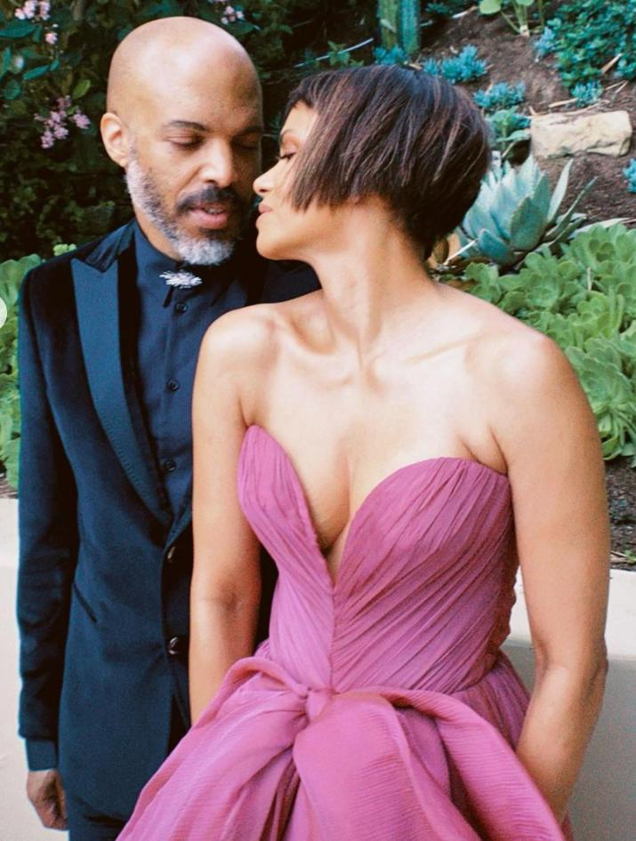 """<p>The couple had a date night at the 2021 Oscars, looking <a href=""""https://www.instagram.com/p/COHHjPYjN5T/"""" rel=""""nofollow noopener"""" target=""""_blank"""" data-ylk=""""slk:exceptionally cozy"""" class=""""link rapid-noclick-resp"""">exceptionally cozy</a> ahead of the red carpet. </p>"""
