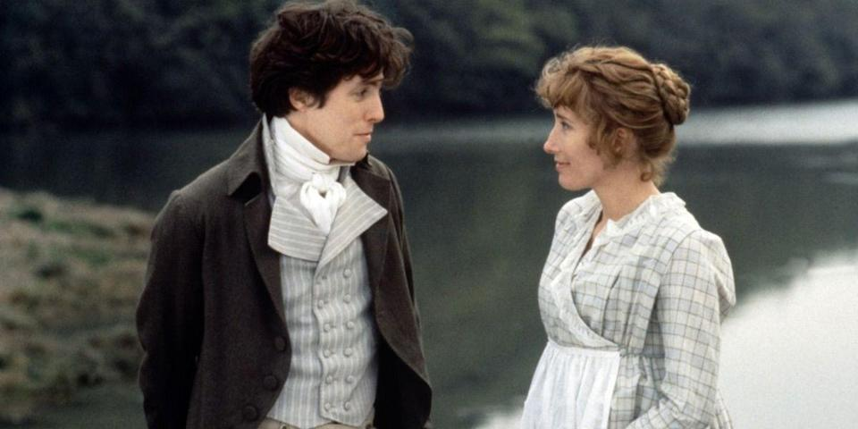"<p>There's a lot to love about Ang Lee's adaptation of Jane Austen's romantic classic. The cast: Kate Winslet and Emma Thompson play sisters Marianne and Elinore, both yearning to get hitched. The screenplay: Thompson wrestled over staying true to Austen's words. And, of course, the bonnets. So many bonnets. <a class=""link rapid-noclick-resp"" href=""https://www.amazon.com/dp/B0019TYQ38?tag=syn-yahoo-20&ascsubtag=%5Bartid%7C10056.g.6498%5Bsrc%7Cyahoo-us"" rel=""nofollow noopener"" target=""_blank"" data-ylk=""slk:Watch Now"">Watch Now</a></p>"