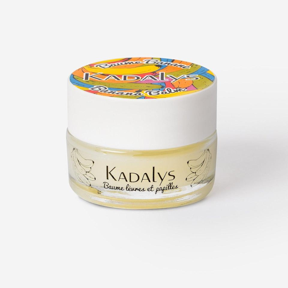 <p>Chapped lips will be a thing of the past with the <span>Kadalys Banana Lip Balm</span> ($19) that uses banana and natural vegetable oils to nourish and repair dry lips.</p>