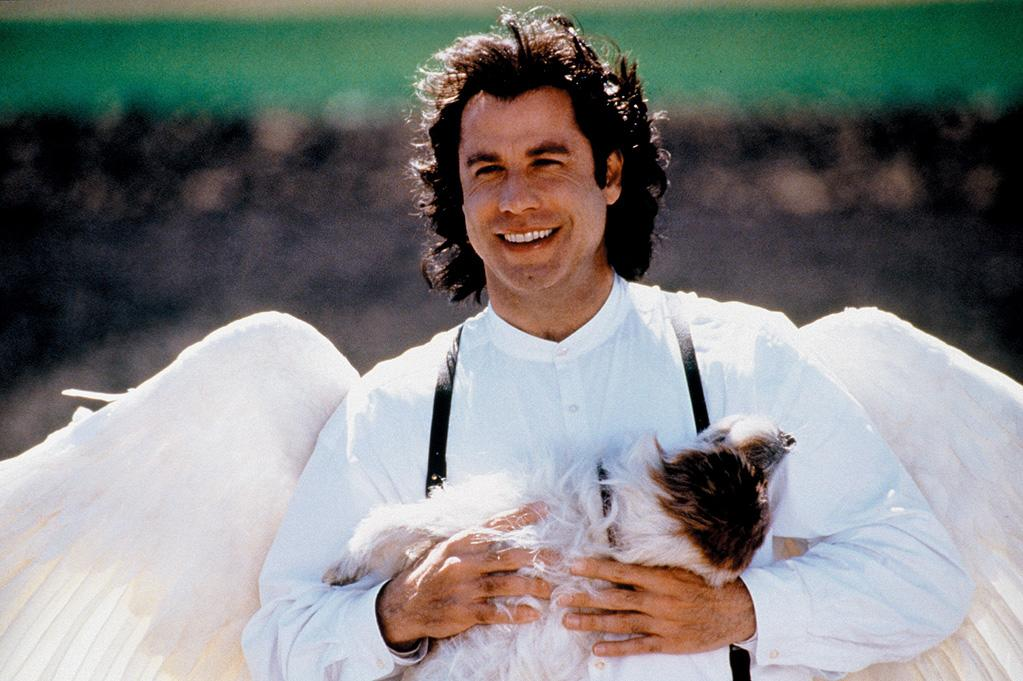 "<a href=""http://movies.yahoo.com/movie/1800420852/info"">MICHAEL</a> -- The Beardless Swayze    In ""Michael,"" Travolta plays a loveably wayward angel who smells like cookies. Apparently, they have hair conditioner in heaven."