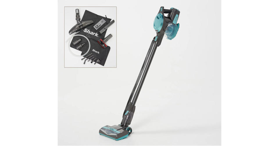 Shark Rocket Ultra-Light 2-in-1 Corded Stick Vacuum and Accessories (Photo: QVC)