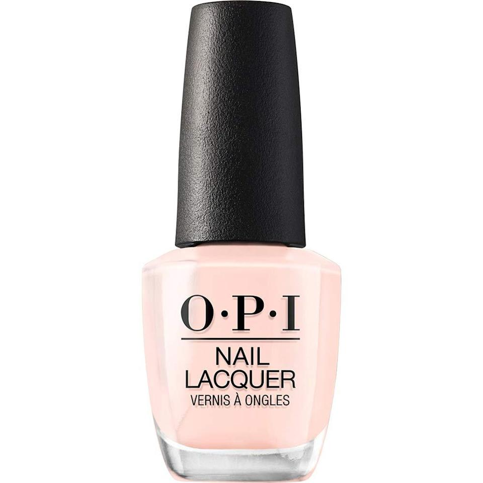 "<h3>OPI Bubble Bath</h3><br>The great equalizer of nail polishes, <a href=""https://www.refinery29.com/en-us/best-opi-nail-polish-colors#slide-1"" rel=""nofollow noopener"" target=""_blank"" data-ylk=""slk:OPI's best-selling"" class=""link rapid-noclick-resp"">OPI's best-selling</a> sheer pinky-nude is beloved by just about everyone for <em>every</em> occasion.<br><br><strong>OPI</strong> Nail Lacquer Bubble Bath, $, available at <a href=""https://www.amazon.com/OPI-Nail-Lacquer-Bubble-Bath/dp/B000NG889Q"" rel=""nofollow noopener"" target=""_blank"" data-ylk=""slk:Amazon"" class=""link rapid-noclick-resp"">Amazon</a>"