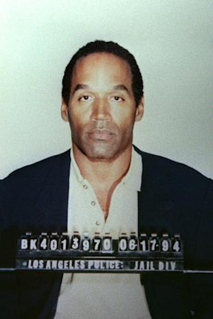 The Los Angeles Police Department booking photo of O.J. Simpson after he was arrested for murdering Nicole Simpson and Ronald Goldman, June 17, 1994 (AFP Photo)