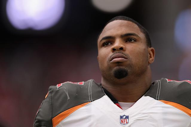 Running back Doug Martin is one of 17 NFL players suspended in the past calendar year for PEDs. (Getty Images)