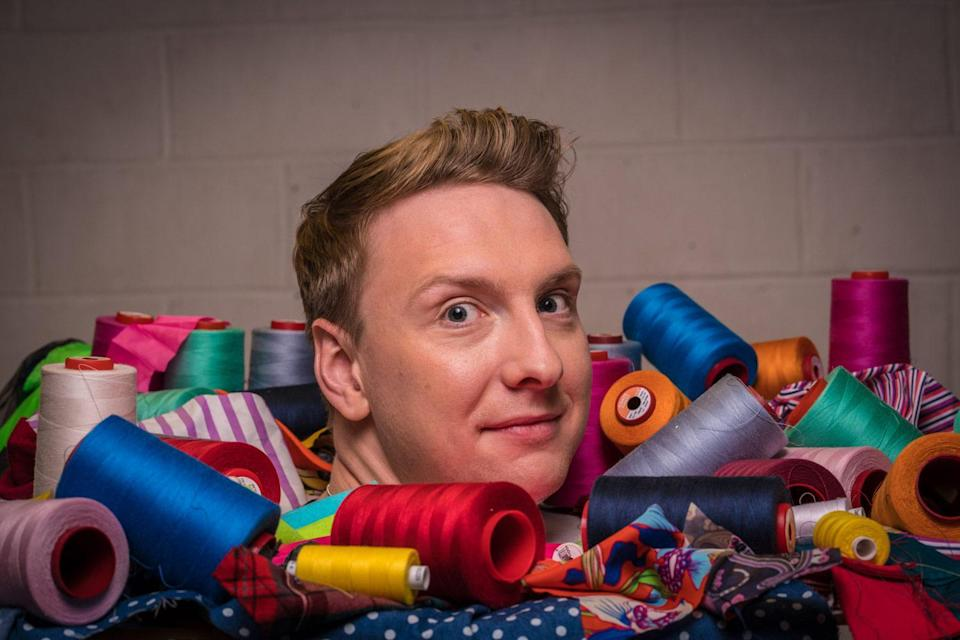 <p>Joe Lycett stops his charges from getting their bobbins in a twist</p>BBC/Love Productions/Mark Bourdillon