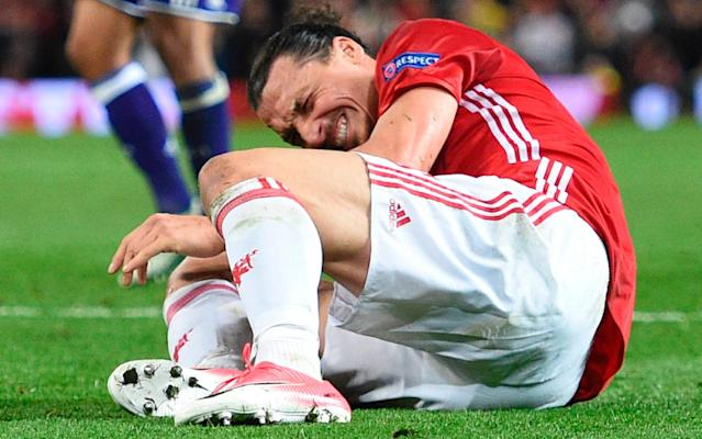 <span>Ibrahimovic may have played his last game for Manchester United</span> <span>Credit: Getty Images </span>
