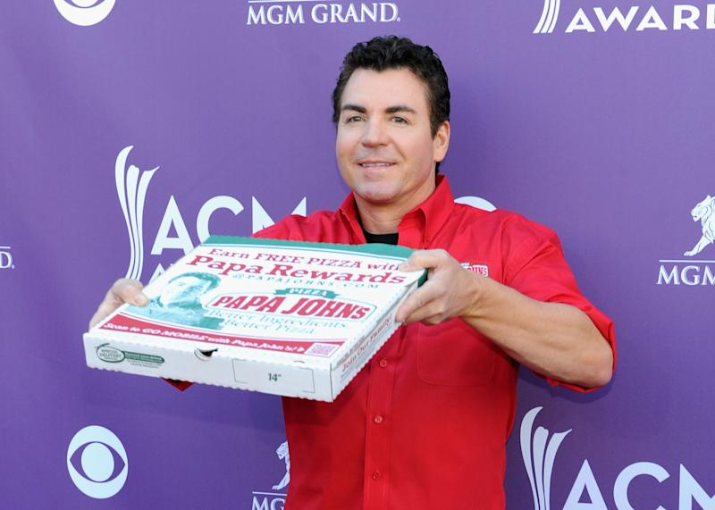 Papa Johns Pizza founder John Schnatter