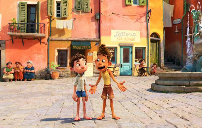 'Luca' (© 2021 Disney/Pixar. All Rights Reserved.)