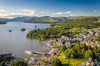 """<p><strong>Walking distance:</strong> 4 miles</p><p>The charming village of Bowness is the little sister of Windermere, and has a high street and shops that stretch down to the lakeshore. It's a brilliant base for plenty of circular walks. </p><p>Head down to the lakeside and catch a ferry to the other side. From here, you can explore Claife Heights and Moss Eccles Tarn, and then you can visit Hill Top, the former home of children's author Beatrix Potter. The house is located in Far Sawrey, where you can jump on a bus back to the lakeside. Another lovely, and shorter, walk from Bowness is to climb to Brant Fell for majestic views over the lake. See the walk details at <a href=""""http://www.gps-routes.co.uk/routes/home.nsf/RoutesLinksWalks/bowness-walking-route"""" rel=""""nofollow noopener"""" target=""""_blank"""" data-ylk=""""slk:gps-routes.co.uk"""" class=""""link rapid-noclick-resp"""">gps-routes.co.uk</a>.</p><p><strong>Where to stay:</strong> For the ultimate in luxury and style, make <a href=""""https://go.redirectingat.com?id=127X1599956&url=https%3A%2F%2Fwww.booking.com%2Fhotel%2Fgb%2Fgilpin-country-house.en-gb.html%3Faid%3D1922306%26label%3Dlake-district-walks&sref=https%3A%2F%2Fwww.goodhousekeeping.com%2Fuk%2Flifestyle%2Ftravel%2Fg34597843%2Flake-district-walks%2F"""" rel=""""nofollow noopener"""" target=""""_blank"""" data-ylk=""""slk:Gilpin Hotel & Lake House"""" class=""""link rapid-noclick-resp"""">Gilpin Hotel & Lake House</a> your base, There's nothing like the pull of a Michelin-starred Asian restaurant using local Lake District produce to look forward to after a bracing walk.</p><p><a class=""""link rapid-noclick-resp"""" href=""""https://go.redirectingat.com?id=127X1599956&url=https%3A%2F%2Fwww.booking.com%2Fhotel%2Fgb%2Fgilpin-country-house.en-gb.html%3Faid%3D1922306%26label%3Dlake-district-walks&sref=https%3A%2F%2Fwww.goodhousekeeping.com%2Fuk%2Flifestyle%2Ftravel%2Fg34597843%2Flake-district-walks%2F"""" rel=""""nofollow noopener"""" target=""""_blank"""" data-ylk=""""slk:CHECK AVAILABILITY"""">CHECK AVAILABILITY</a></p>"""