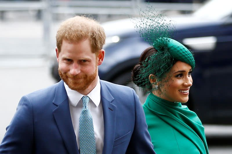 UK's Prince Harry, wife Meghan, do not need U.S. help for security costs, spokeswoman says
