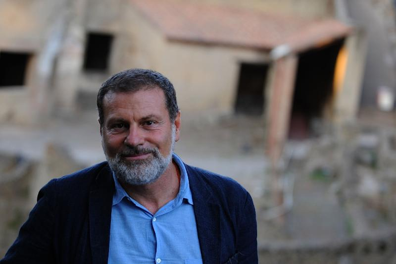 Director of the Pompeii ruins Massimo Osanna was sent in to turn around the project two years ago amid reports of degradation of the ruins, of theft and even of looting by the Neapolitan mafia, the Camorra (AFP Photo/Mario Laporta)