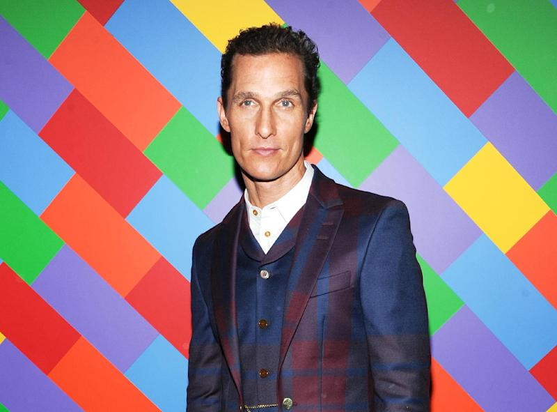 Matthew McConaughey says he's listened to critics