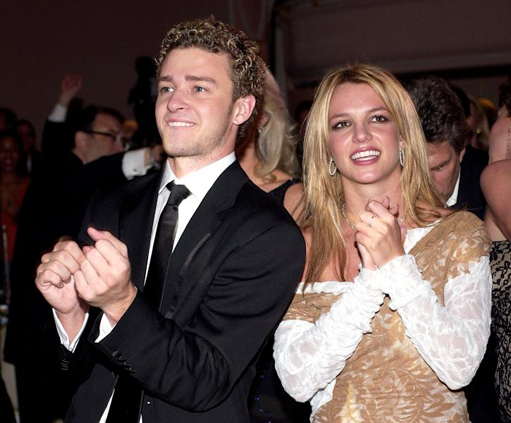 Justin Timberlake just found out that his ex Britney Spears is totally down to collaborate with him — watch his reaction and see what he said!