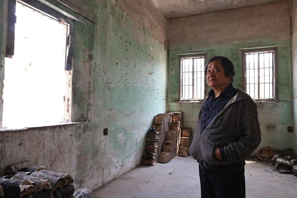 Film director Alex Cheung lived in the mansion as a boy.  Photo: K. Y. Cheng