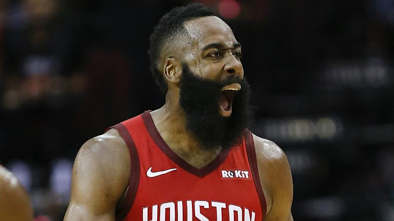 Harden on Robertson comparisons: That's what I play for!