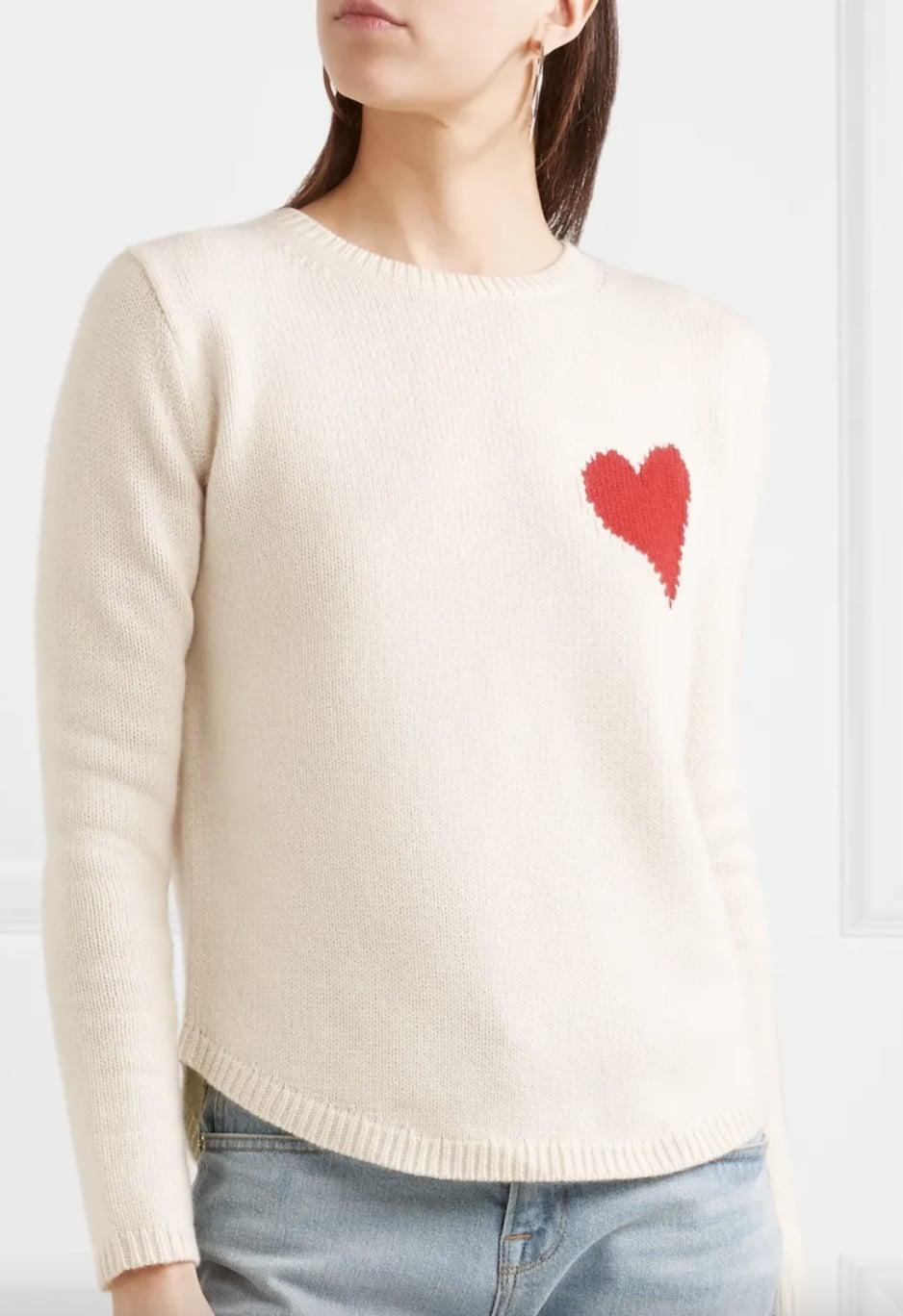 <p>This <span>Chinti and Parker sweater</span> ($148, originally $370) will keep you warm when you make a quick grocery run before hopping back into bed.</p>