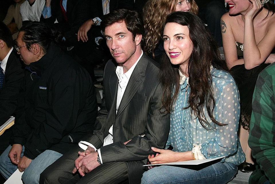 <p>Looking suave, Dylan McDermott. <i>(Evan Agostini/Getty Images)</i></p>