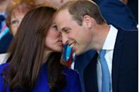 """<p>Interjecting a conversation by saying """"pardon"""" might seem like the proper thing to do, but the royals just say """"sorry."""" This is possibly due to the fact that """"pardon"""" has French origins. </p>"""