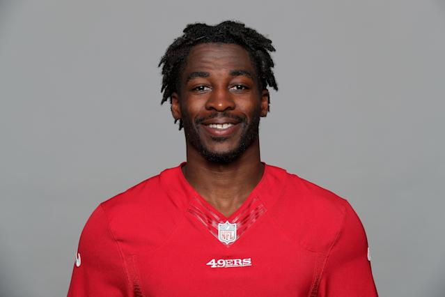 "Hey Jets, this is <a class=""link rapid-noclick-resp"" href=""/nfl/players/27634/"" data-ylk=""slk:Bruce Ellington"">Bruce Ellington</a>, your newest receiver. (AP)"