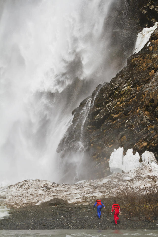 <p>Bridal Veil Falls in Valdez, Alaska. (Photo: First Light/Getty Images) </p>