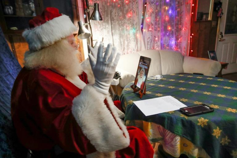 Many Santas have taken their winter gigs online, opting to swap in-person visits for virtual ones