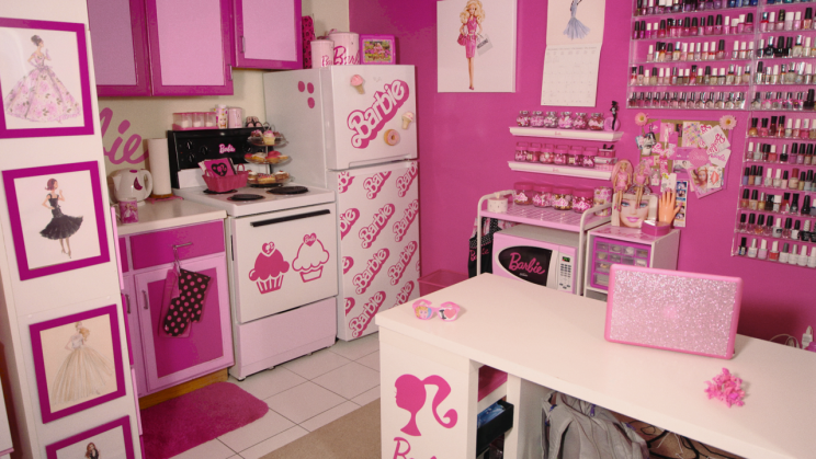 Studio Apartment Yahoo Answers barbie superfan spent over $70,000 on collection