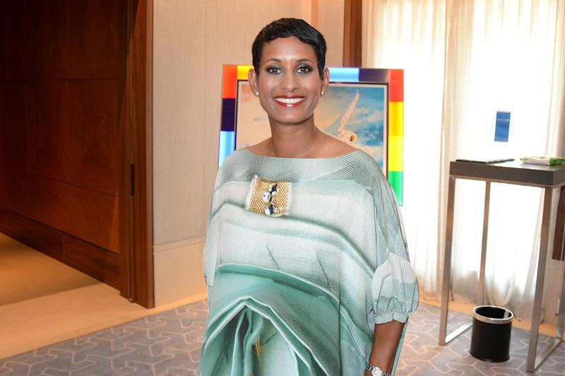 Naga Munchetty attends the Attitude Pride Awards 2018 at The Berkeley Hotel on July 6, 2018 in London, England. (Photo by David M. Benett/Dave Benett/Getty Images)