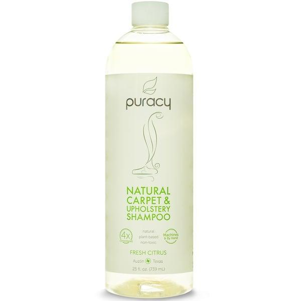<p><span>Puracy Natural Carpet and Upholstery Shampoo</span> ($14, originally $16) can be used either with a carpet-cleaning machine or by hand. </p>