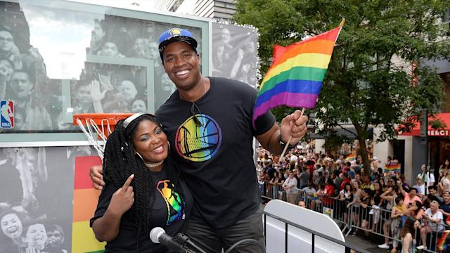Former NBA player Jason Collins was the first active male athlete to come out as gay. He's encouraged by the steps professional leagues are taking to make their communities more inclusive.