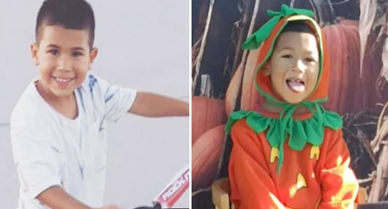 Zuriel Valdivia (left) and his brother Enzie (right). Source: NBC San Diego