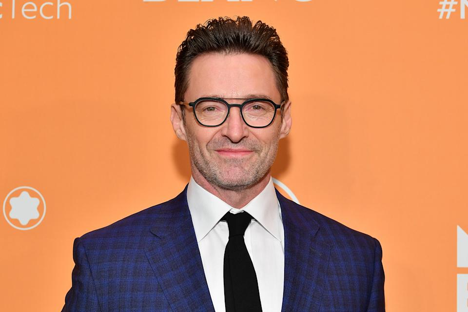 NEW YORK, NEW YORK - MARCH 10: Hugh Jackman attends the Montblanc MB01 Headphones & Summit 2+ Launch Party at World of McIntosh on March 10, 2020 in New York City. (Photo by Dia Dipasupil/WireImage)