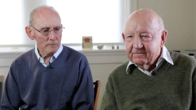 Now that Australians have overwhelmingly voted to legalize same-sex marriage in a national survey, two Sydney residents who are believed to be the country's oldest gay couple announced that they plan to marry in January.