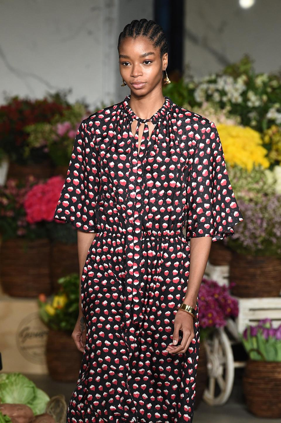 <p>Makeup artist Diane Kendal created looks inspired by a bright summer day in the '70s with glowing skin and a soft, sultry eye for Jason Wu's runway.</p>