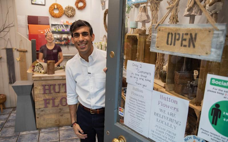 Rishi Sunak's furlough scheme for all workers is due to end in October - HM TREASURY