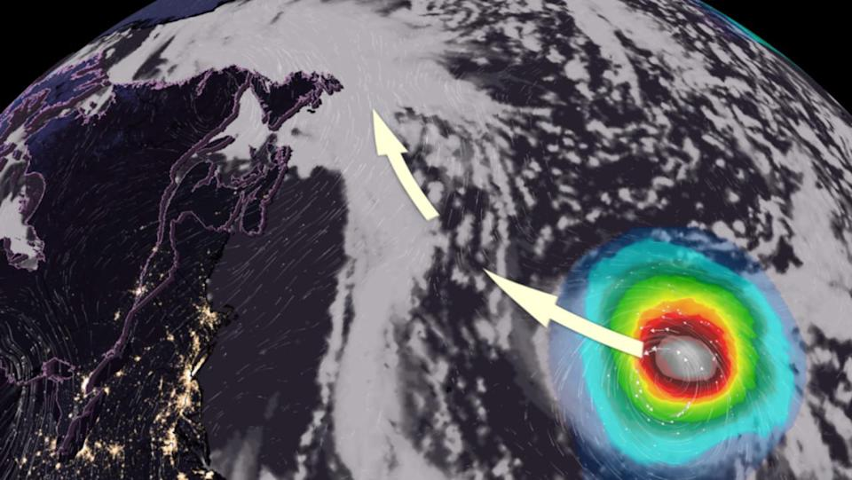Larry continues to strengthen as major hurricane, Canadian impacts possible