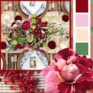 "<p>Who says fall isn't for florals? Bring some lively color to your table by pairing wine red and light pink flowers with a set of blue china dishes.</p><p><strong>RELATED:</strong> <a href=""https://www.goodhousekeeping.com/holidays/thanksgiving-ideas/g143/bold-thanksgiving-place-settings/"" rel=""nofollow noopener"" target=""_blank"" data-ylk=""slk:60 Standout Thanksgiving Table Settings to Impress Your Guests"" class=""link rapid-noclick-resp"">60 Standout Thanksgiving Table Settings to Impress Your Guests</a></p>"