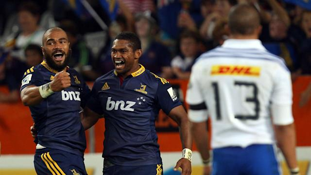 Highlanders put Stormers to the sword in Dunedin, running in five tries in the first half and four in the second.