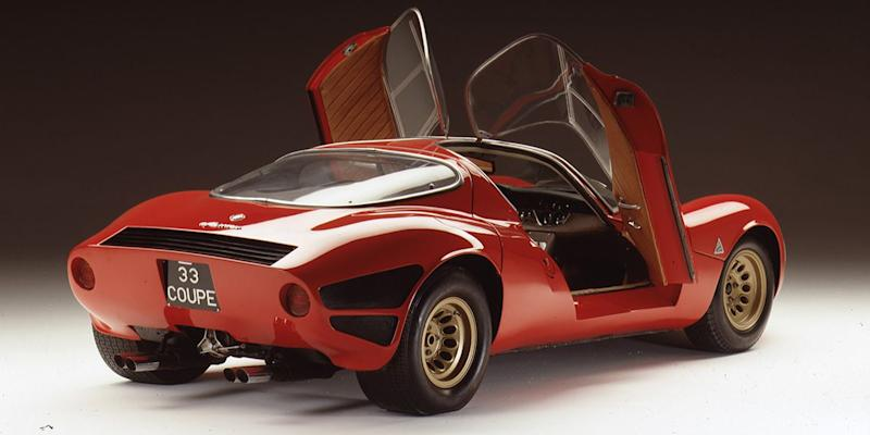 Vintage Alfa Romeo >> This Is The Vintage Alfa That Inspired The New 8c