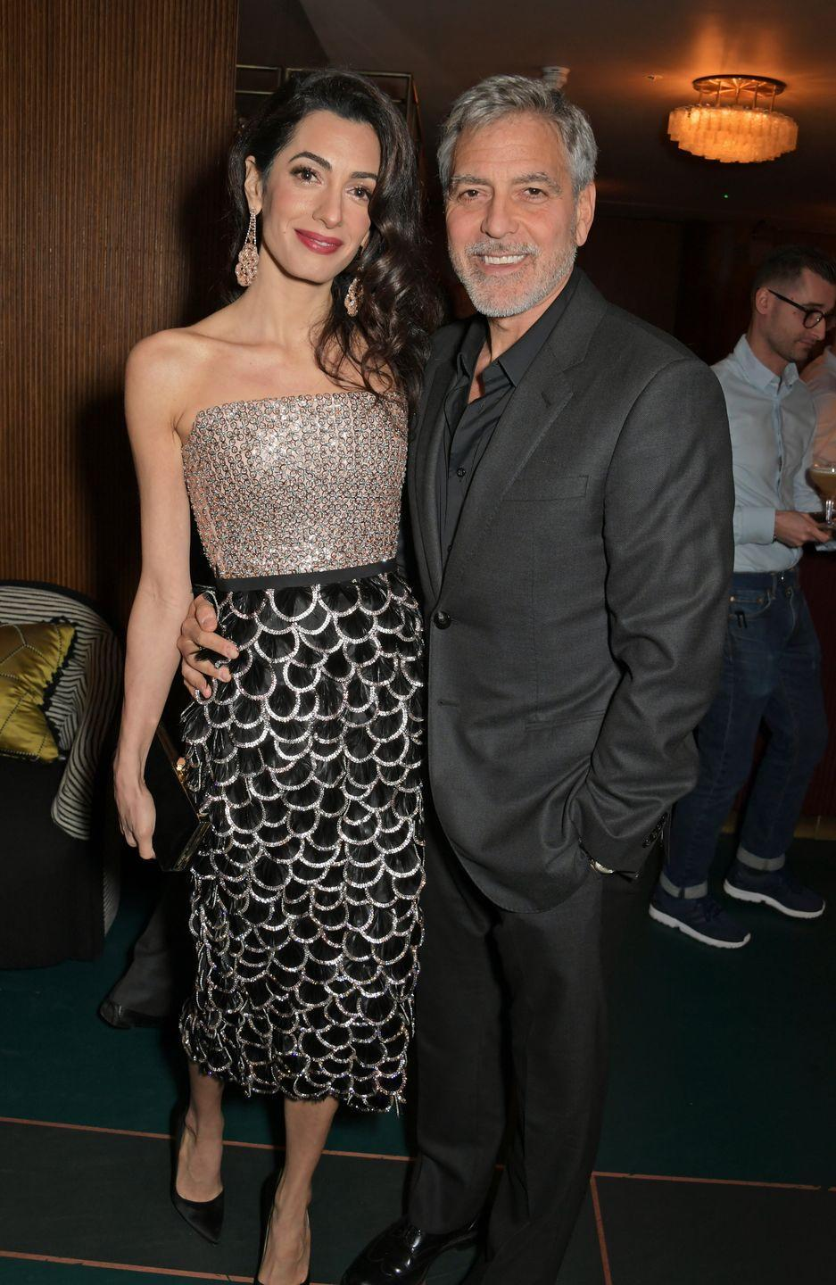 """<p>The actor proved them wrong by marrying Amal Alamuddin (now Clooney), an attorney who specializes in international law and human rights, in 2014. When asked about her on <a href=""""https://people.com/movies/george-clooney-met-amal-clooney-without-ever-leaving-home/"""" rel=""""nofollow noopener"""" target=""""_blank"""" data-ylk=""""slk:My Next Guest Needs No Introduction with David Letterman"""" class=""""link rapid-noclick-resp""""><em>My </em><em>Next Guest Needs No Introduction with David Letterman</em></a>, he said, """"I met someone who I would absolutely trade my life for. I met someone, who, her life meant more to me than my life. I had never had that experience before.""""</p>"""