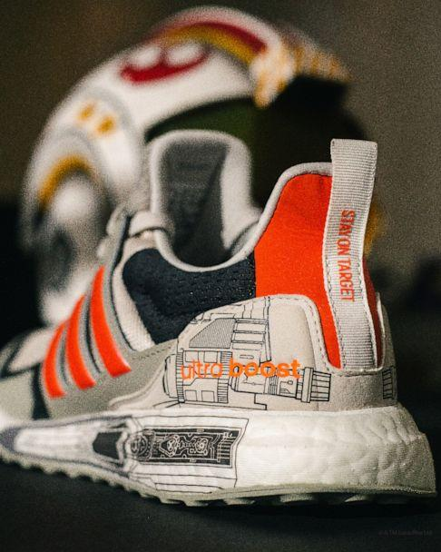 PHOTO: The X-Wing Starfighter inspired Ultraboost S&L from Adidas. (adidas x Star Wars)