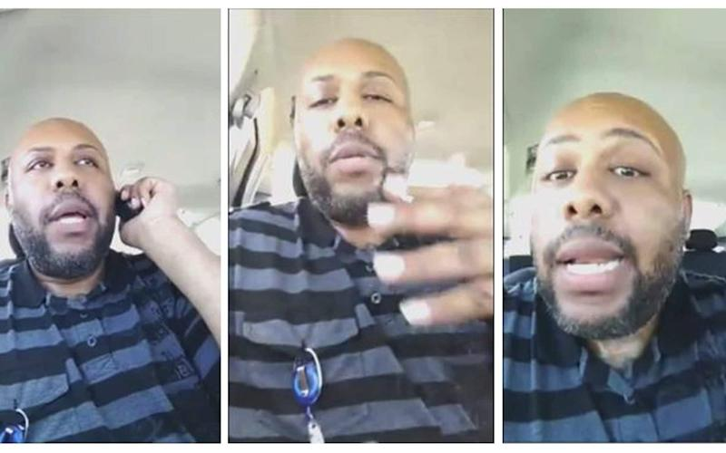 Steve Stephens, in videos posted on Facebook in which he boasted of killing 15 people - REUTERS