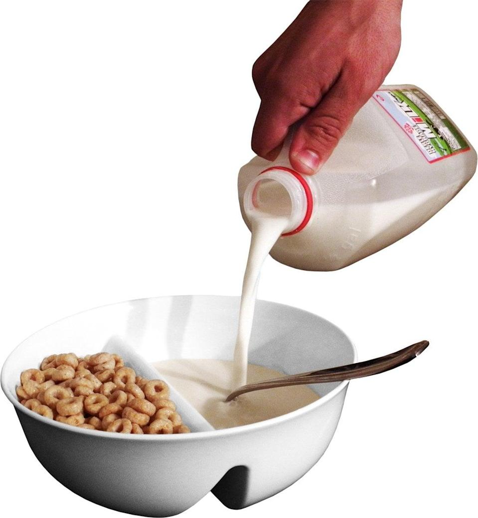 <p>We want this <span>Just Crunch Anti-Soggy Cereal Bowl</span> ($9, originally $12) for ourselves.</p>