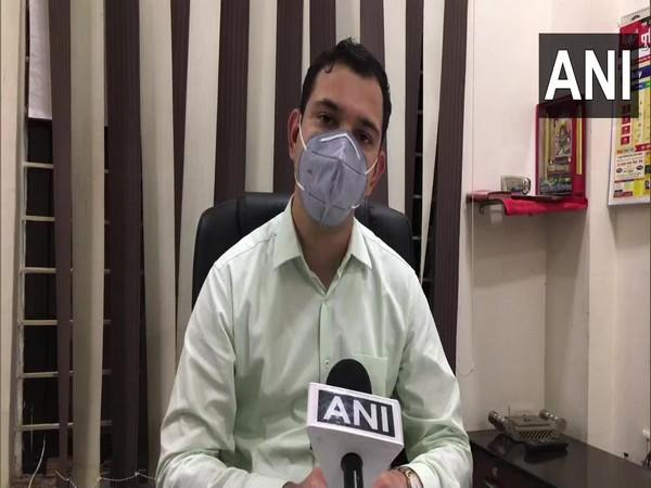 Amit Kumar, Assistant Superintendent of Police in conversation with ANI. (Photo/ANI)
