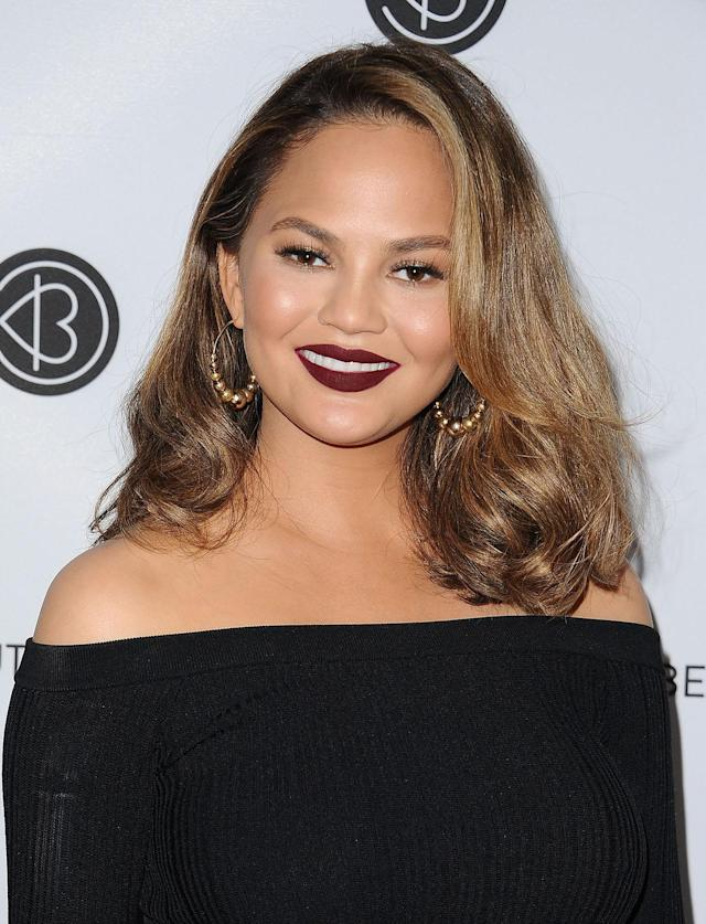 <p>Teigen and blond hair are a match made in hair heaven. (Photo: Jason LaVeris/FilmMagic) </p>