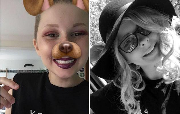 Hannah was first diagnosed with Ewing sarcoma when she was 13. Photo: Facebook