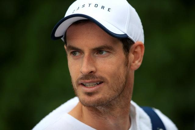 Andy Murray is preparing for the 2021 season