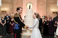 """First comes love, then comes a royal wedding in this delightful sequel to <em>A Christmas Prince</em>. Bonus: You can spend the movie trying to spot all the <a href=""""https://www.glamour.com/story/all-the-meghan-markle-references-in-a-christmas-prince-the-royal-wedding?mbid=synd_yahoo_rss"""" rel=""""nofollow noopener"""" target=""""_blank"""" data-ylk=""""slk:Meghan Markle references"""" class=""""link rapid-noclick-resp"""">Meghan Markle references</a>. (You can even turn it into a drinking game.)"""