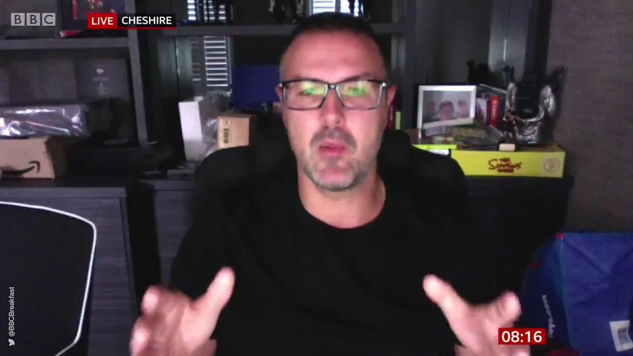 <p>Top Gear host Paddy McGuinness appeared on BBC Breakfast to discuss an appeal for autistic people and their families to take part in the UK's largest study of the condition.</p> <p>Credit: @BBCBreakfast via Twitter</p>