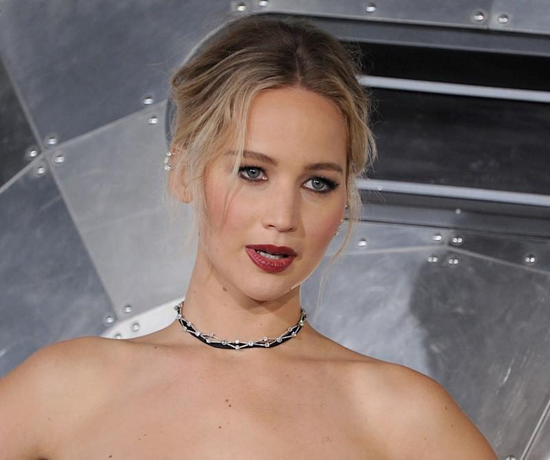 "Jennifer Lawrence's last movie was so stressful to film, she needed a ""happy place"" full of Kardashian stuff on set"