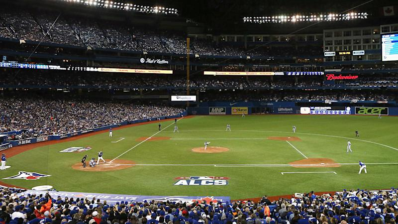 Royals-Blue Jays postponed because of hole in Rogers Centre roof